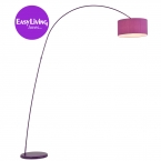 Belleville Arch Purple Floor Lamp