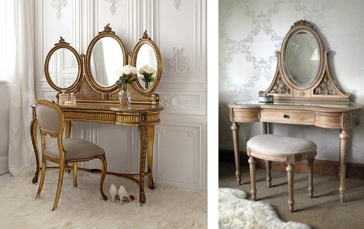 French Dressing Tables