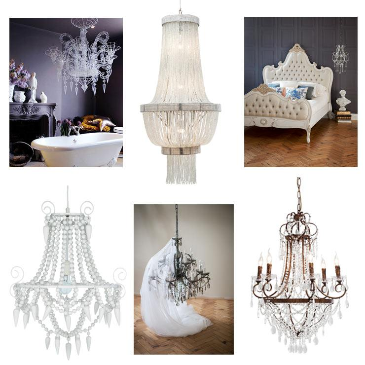 Enlightening Lighting Blog Glittery, striking French Chandeliers glass crystal metal vintage