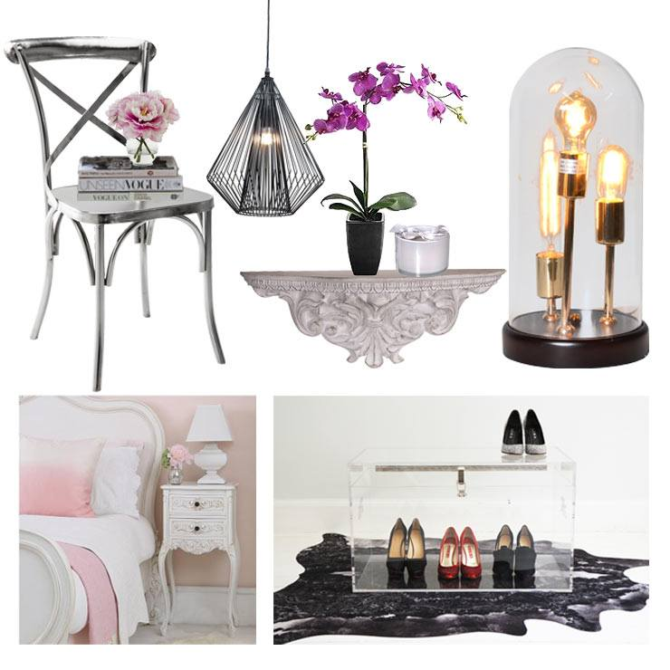 Bedside Story - Inventive Ways with bedside tables - the French Bedroom Company products