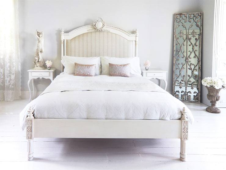 The French Bedroom Company Blog, How to Keep your bed fresh. French white painted bed