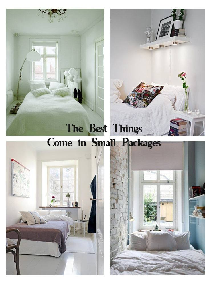 Design Tips for a small bedroom blog, small bedroom ideas collage