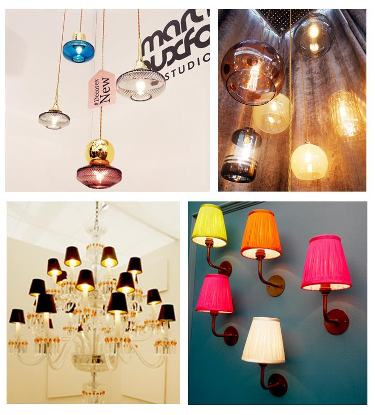 The French Bedroom Company Blog, Decorex international Interiors Show 2015 Statement Lighting Trend