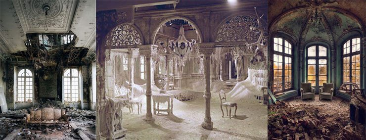 The French Bedroom Company Blog - Halloween 2015, Stylish Halloween ideas, abandoned mansions and homes
