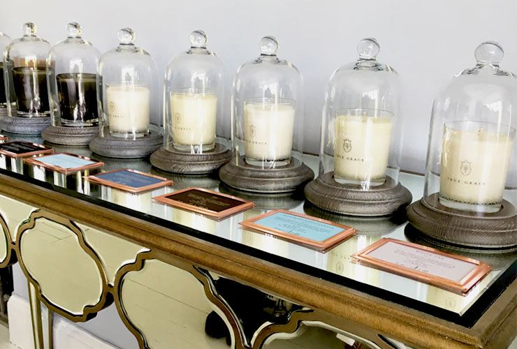 The French Bedroom Company Blog, truly Graceful, True Grace Scented Candle Collection Village & Manor range