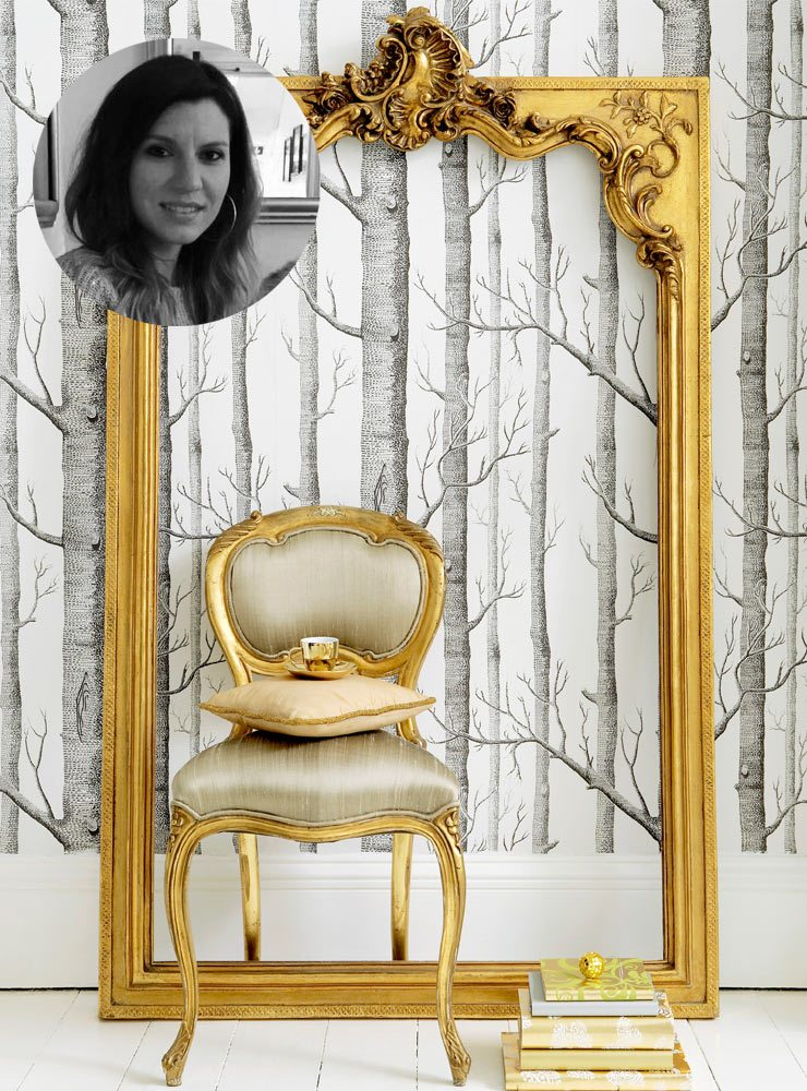 The French Bedroom Company Blog, Valentines Day gift list - things we're loving for inspirational valentines presents. Milene in house parisian and digital marketing guru picks our versailles baby chair in gold and silk for her valentines present