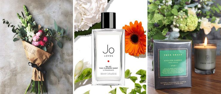 The French Bedroom Company Blog, Favourite Spring Scents - fresh spring bouquet, Jo Loves perfume, true Grace English Garden Candle