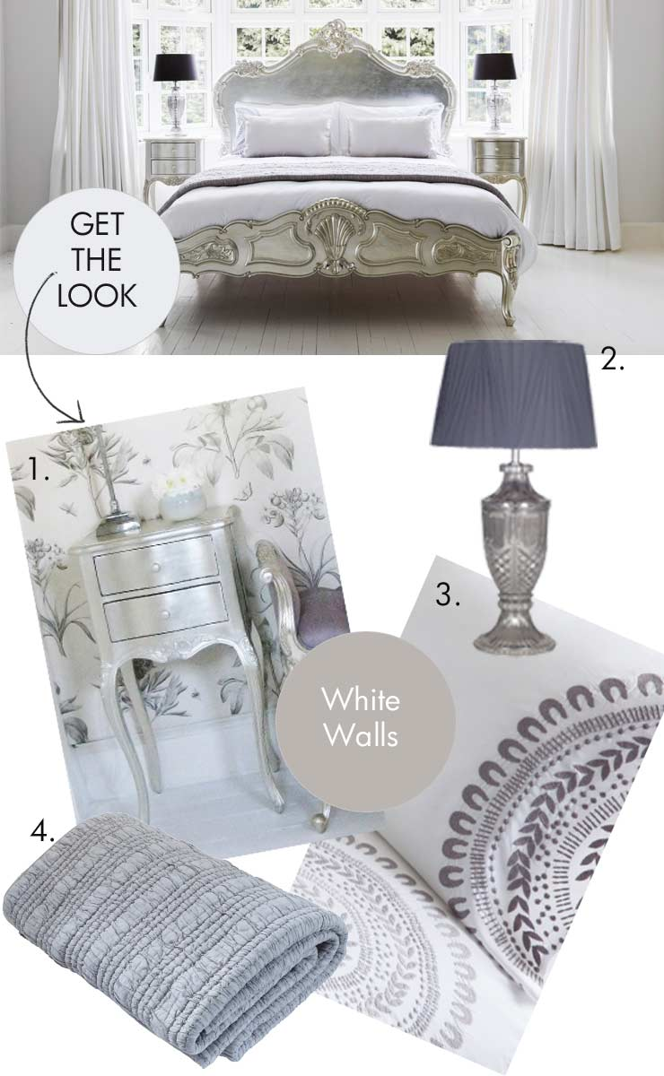 The French Bedroom Company Blog, Get The Look. Steal our stylists' tips on getting the French Bedroom look in your home. Starting with our Serenity Silver French Bed