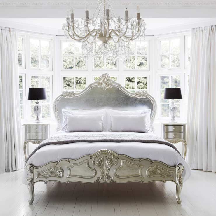 get the look french greys french bedroom company. Black Bedroom Furniture Sets. Home Design Ideas