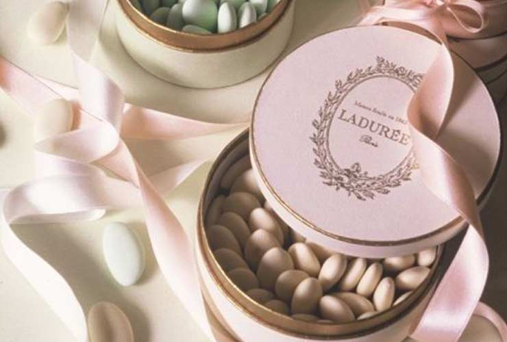 The French Bedroom Company Blog, 10 French Wedding Traditions for a French Wedding. Laduree french dragee wedding gifts