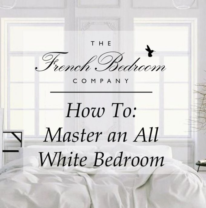 How To: Master an All White Bedroom