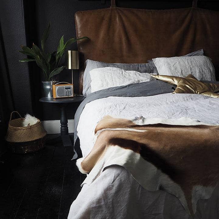 Ivory 100% linen bedding