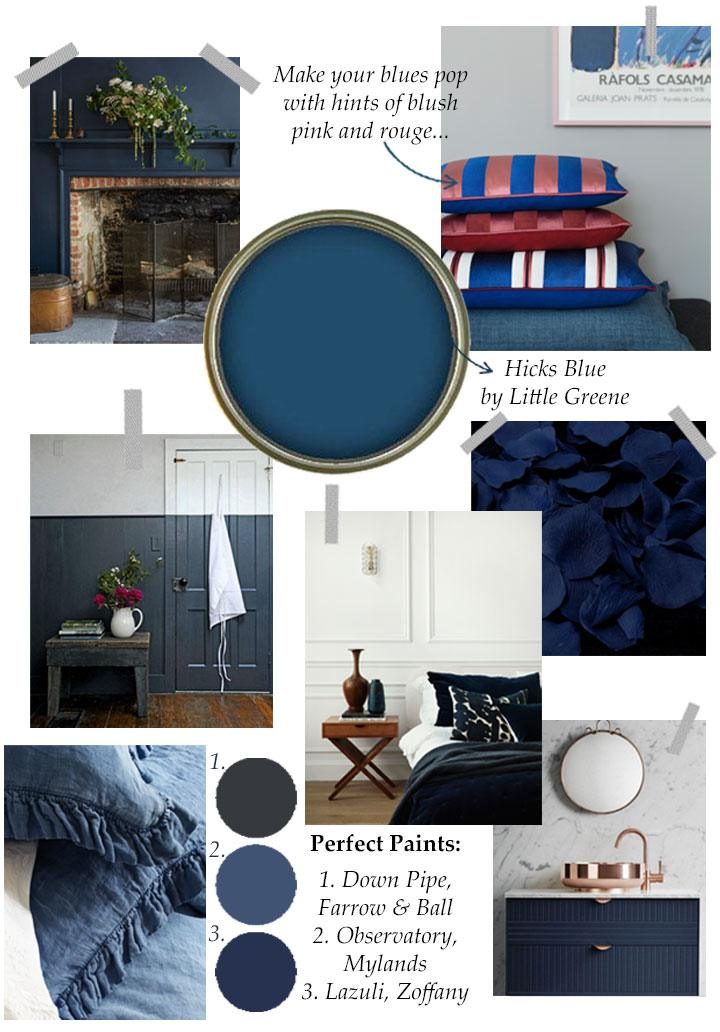 Navy Blue Interiors inspiration