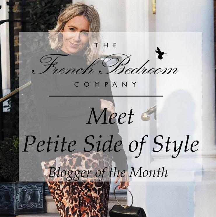blogger of the month on the French Bedroom Company
