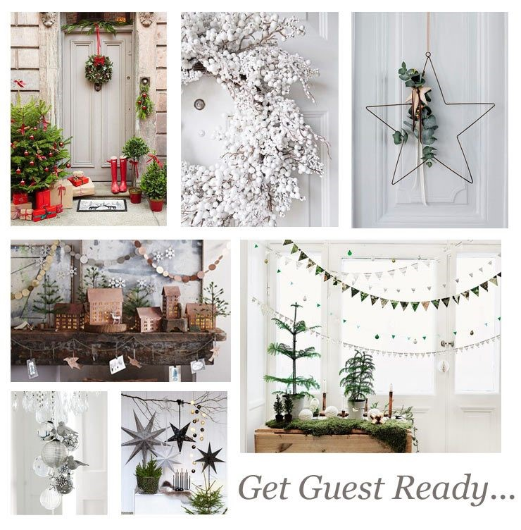 Christmas decor for guest bedrooms