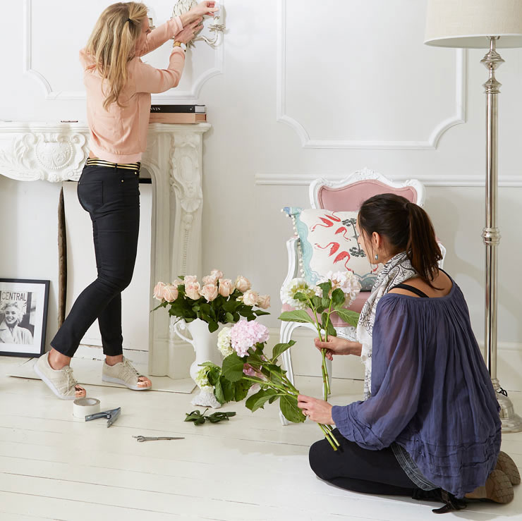 Insta-worthy style on French Bedroom Photoshoot
