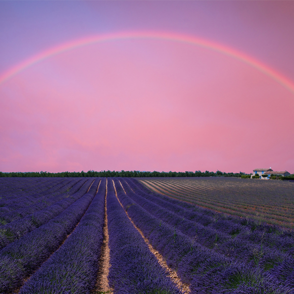 The Best UK Places for Rainbow Sightings | The French Bedroom Company